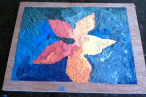 Palette knife painting, Christina Alph, Creatives