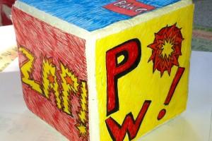 Art cube, Jordan Hayes, 3-D Art