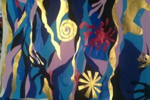 Matisse-inspired collage- Rachel Tapp, Creatives